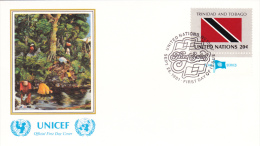 United Nations FDC: 1981 Trinidad And Tobago (G35-53) - Briefe
