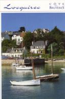 LOCQUIREC (29) - LE PORT / Voiliers En BOIS / Maison Du Douanier, Parking à Bateaux - Locquirec