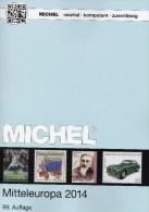 MICHEL Part 1 Stamp Europe Catalogue 2014 New 62€ Mittel-Europa Austria Schweiz UNO CZ CSR Ungarn Liechtenstein Slowakei - Kronieken & Jaarboeken
