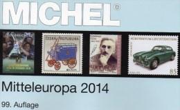 Band 1 Europa Katalog 2014 Neu 62€ MICHEL Mitteleuropa Mit Austria Schweiz UNO Genf CZ CSR Ungarn Liechtenstein Slowakei - Kreative Hobbies