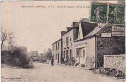 BAZOUGES Le DESERT  -  Route De Fougéres -  Sortie Du Bourg - France