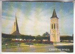 GRISY SUISNES 77 - La Place Publique - CPSM CPM GF - Seine Et Marne - Other Municipalities