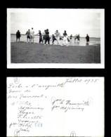 12917-photographie-31   Groupe  Scene De Vie Peche A L'anguille 1935 Toussat    Photo Originale   B - Fotografie