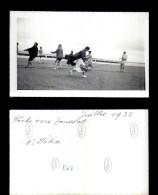12917-photographie-32   Groupe  Scene De Vie   Peche A L'anguille 1935  Toussat    Photo Originale   B - Fotografie