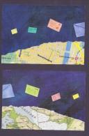 Europa CEPT Groenland 2008 Y&T N°485 à 486 - Michel N°502 à 503 - Cartes Postales Du Timbre Europa - Europa-CEPT