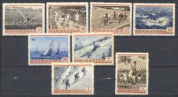 Russia 1954 Unif. 1693/700 **/MNH VF - 1923-1991 USSR
