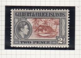 King George VI - 1939 - Isole Gilbert Ed Ellice (...-1979)