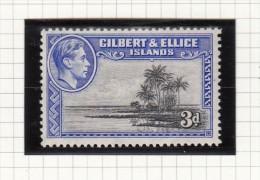 King George VI - 1939 - Gilbert- En Ellice-eilanden (...-1979)
