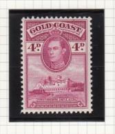 King George VI - 1938 - Goudkust (...-1957)