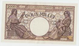 ROMANIA 2000 LEI 1941 AUNC P 53 - Rumania