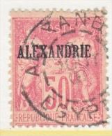 FRANCE  ALEXANDRIA  12  (o) - Alexandria (1899-1931)
