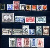 Timbres De L´année 1944 - 1940-1949