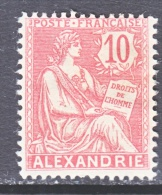 FRANCE ALEXANDRIA  21  * - Alexandria (1899-1931)