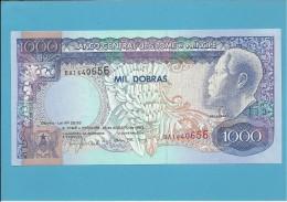 SAINT THOMAS & PRINCE - 1000 DOBRAS - 26.08.1993 - UNC - P64 - REI AMADOR - São Tomé U. Príncipe