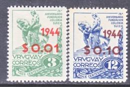 URUGUAY  530, 532  *   SWISS COLONY - Uruguay