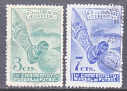 URUGUAY  584-5   (o)  WORLD SOCCER CHAMPIONSHIP - Fußball-Weltmeisterschaft