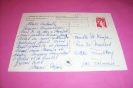 TIMBRE OBLITERATION FLAMME° L'EVASION D'AUTOMNE FOIRE DE BANDOL LE 26 10 AU 5 11 1979 - Marcofilie (Brieven)