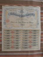 51 SUIPPES Action De 100 Frs Au Porteur ETABLISSEMENT LUCIEN LEPINE ET Cie  1930 - Other