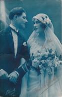 """CPA """"Voeux De Bonheur"""" - 1924 (2612) - Hochzeiten"""