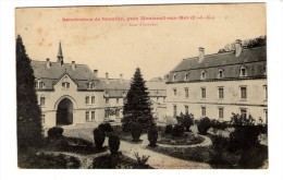 Cp , 62 , Sanatorium De NEUVILLE , Prés MONTREUIL SUR MER , Cour D'honneur , Vierge - Autres Communes