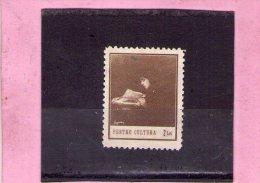 1932 Ttimbres Pour La Culture  Mi 28 Kulturfond - Portomarken