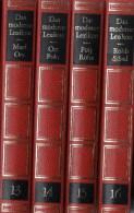 Lexika Band 13-16 Mus-Sch 1970 Antiquarisch 32€ Bertelsmann Moderne Lexikon In 20 Bände Wissen Der Welt In Bild Und Text - Lexiques