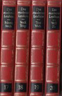 Lexika Band 17-20 Schu-Zz 1970 Antiquarisch 32€ Bertelsmann Moderne Lexikon In 20 Bände Wissen Der Welt In Bild Und Text - Lexiques
