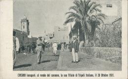 Pub Cinzano Torino Inauguro Al Rombo Del Cannone La Sua Filiale Di Tripoli Italiana Il 28 Ottobre 1911 - Libye
