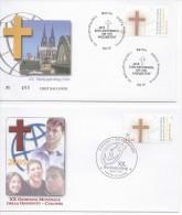 Germany & Vatican (2005) - 2 FDC -   /  Joint Issue - Gezamelijke Uitgaven
