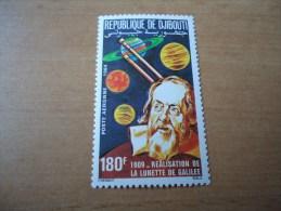 Dschibuti: 1 Wert Teleskop Galilei - Dschibuti (1977-...)