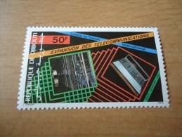 Dschibuti: 1 Wert Telekommunikation - Dschibuti (1977-...)
