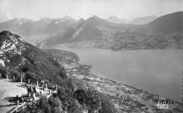 LAC D' ANNECY Montagnes Des Beauges Vues Du Téléférique De Veyrier 1952 - Annecy