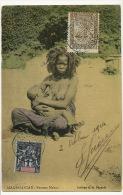 Madagascar Femme Makoa Allaitant Au Sein Allaitement Breast Feeding Edit AG Voyagé Beaux Timbres - Madagascar