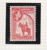 Queen Elizabeth II - 1952 - Goudkust (...-1957)