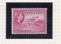 Queen Elizabeth II - 1952 - Costa D'Oro (...-1957)
