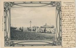 Pernambuco  Lingueta Edicion Ramiro M. Costa Used 1904 - Recife