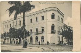 Pernambuco  Camara Municipal Undivided Back . No Editor . Mint - Recife