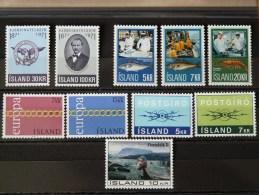 ISLANDE - Lot Année 1971 Neuve * - 1944-... Republik