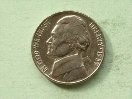 1939 - Five Cents / KM 192 ( Uncleaned - For Grade, Please See Photo ) ! - Émissions Fédérales