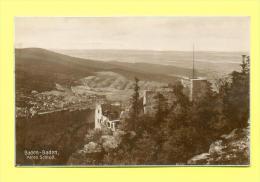 CPA  ALLEMAGNE  -  BADEN-BADEN  -  Altes Schloß  ( En 1932 ) - Baden-Baden