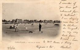 CPA  -  PARIS - PLAGE  (62)   Vue De La Plage  -  1903 - France