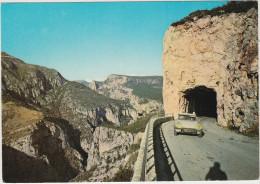 Les Gorges Du Verdon: CITROËN DS (8221 OZ44)  - Le Tunnel De Fayet  - (Haut Var) ,  France - Voitures De Tourisme