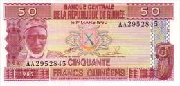 GUINEE  50 Francs Guinéens  Emission De 1985      ***** BILLET  NEUF ***** - Guinea