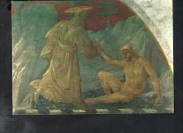 L1702 Firenze, Chiostro Di S. Maria Novella - Paolo Uccello: Creazione Di Adamo, Adam - Giusti/ Novalux - Paintings, Stained Glasses & Statues