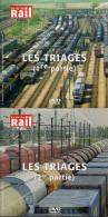 TRAINS : LES TRIAGES LOT De 2 DVD La Vie Du Rail - Documentaires
