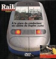 TRAINS : A LA PLACE DU CONDUCTEUR EN CABINE DU DUPLEX ET LA 140 C27 DVD La Vie Du Rail - Documentaires