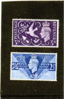 1946 Gran Bretagna - Anniversario Della Vittoria - 1902-1951 (Re)
