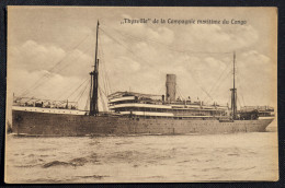 Thysville  Compagnie Maritime De Congo - Paquebots