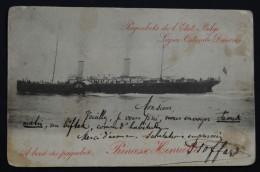 Princesse Henriette 1906   Paquebots De L´etat Belge  Ostend Dover - Paquebots
