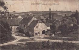 39 Jura Quintigny Le Moulin ( Mauvais Etat De La Carte Voir Scan ) - France